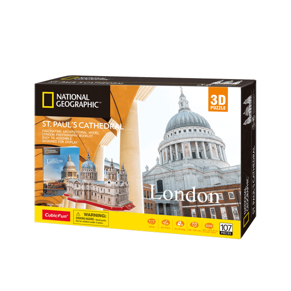 Puzzle 3D World Brands Catedral de St Paul (National Geographic)