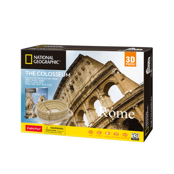 Puzzle 3D World Brands Coliseo (National Geographic)