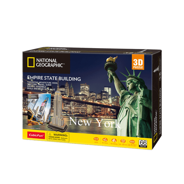 Puzzle 3D World Brands Empire State Building (Nat. Geographic)