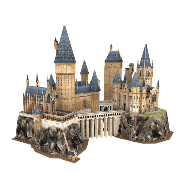Puzzle 3D World Brands Harry Potter Castillo de Hogwarts