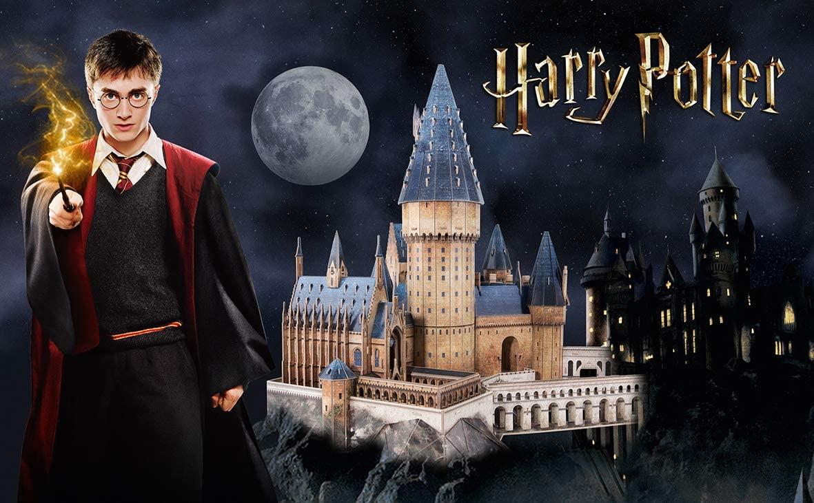 Puzzle 3D World Brands Harry Potter Gran Salón de Hogwarts