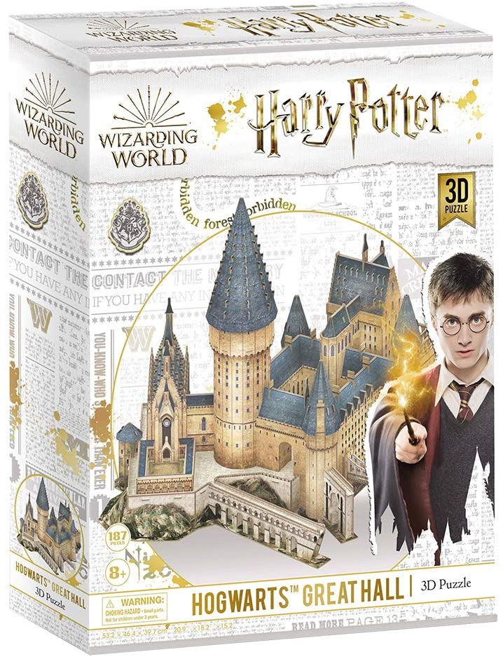 Puzzle 3D World Brands Harry Potter Gran Salón de Hogwarts