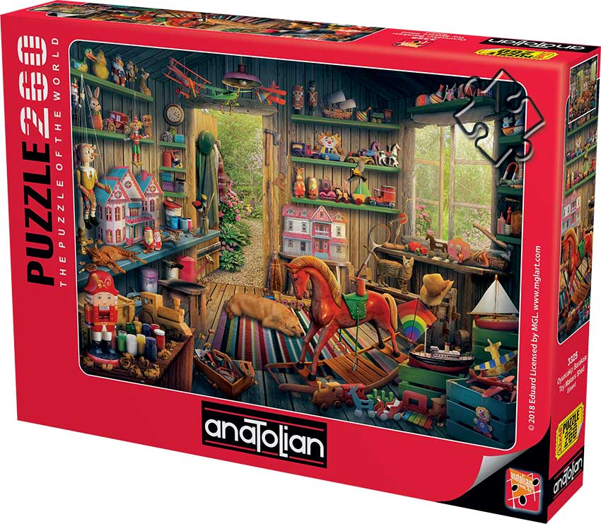 Puzzle Anatolian Antigua Fábrica de Juguetes de 260 Piezas