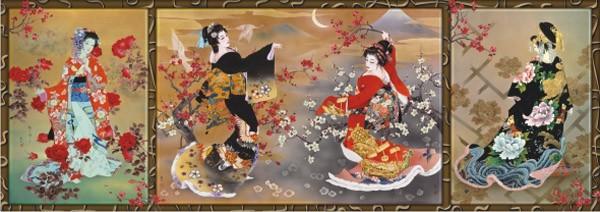 Puzzle Anatolian Baile de Geishas de 1000 Piezas