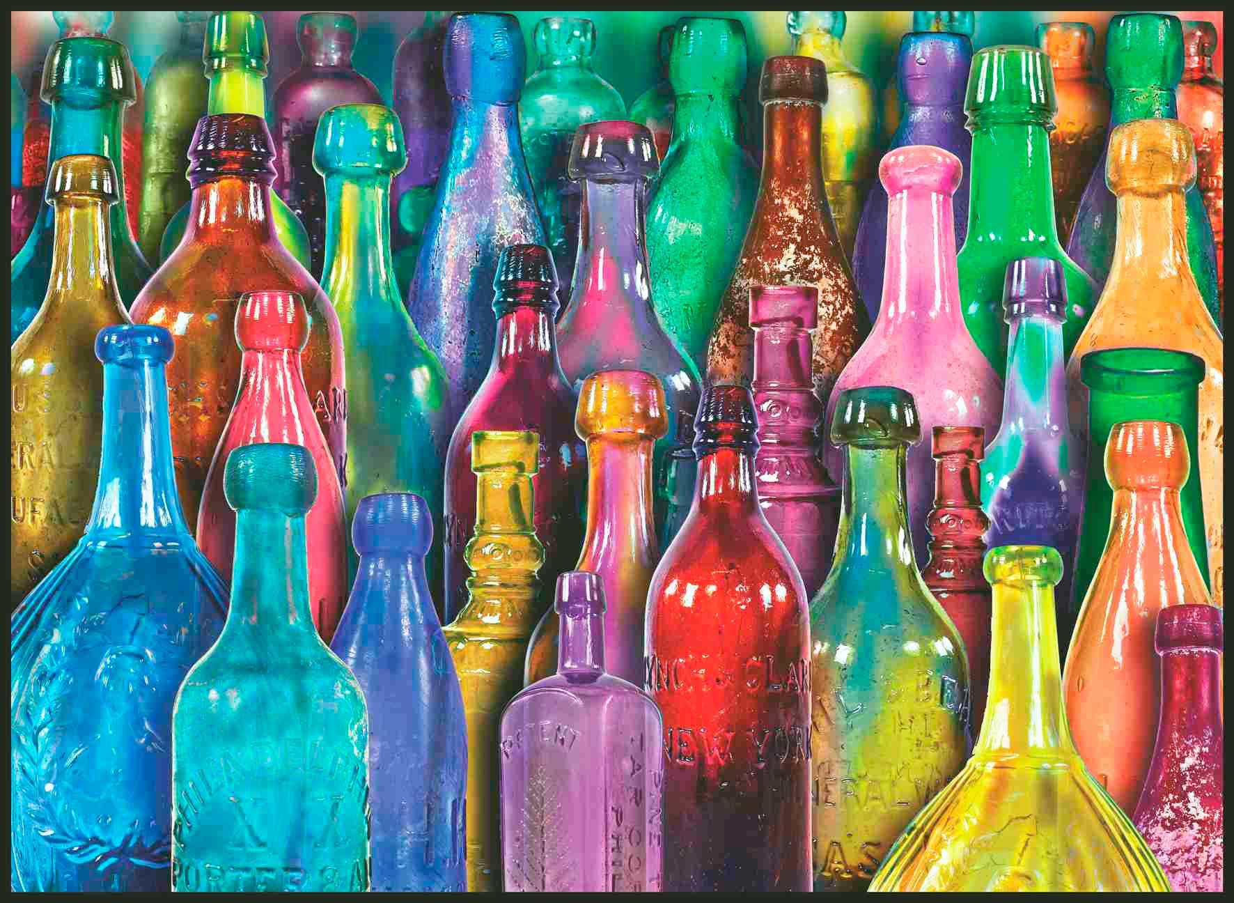 Puzzle Anatolian Botellas de Colores de 1000 Piezas