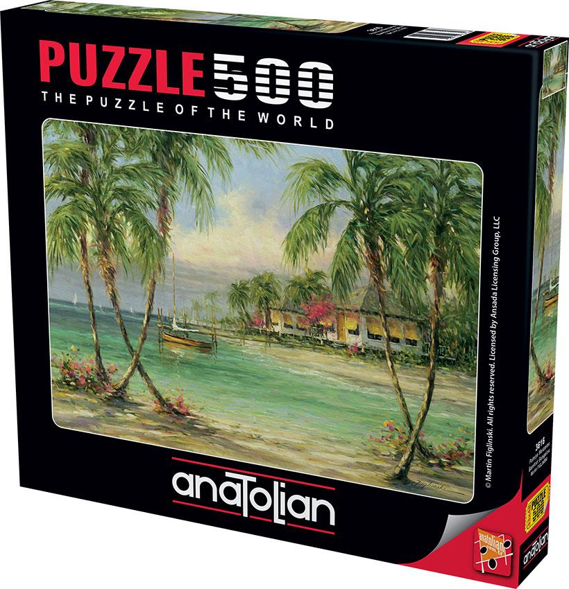 Puzzle Anatolian Bungalows de 500 Piezas