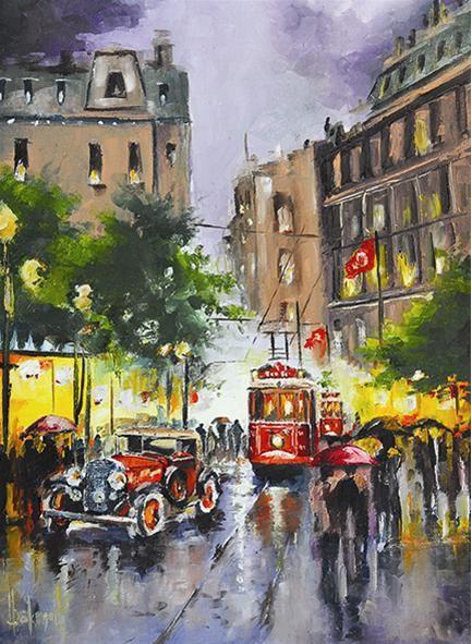 Puzzle Anatolian Calle de Estambul, Turkia de 1000 Piezas