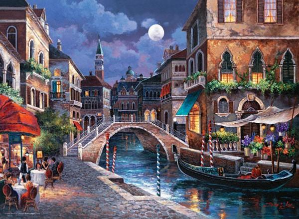 Puzzle Anatolian Calles de Venecia II de 1000 Piezas