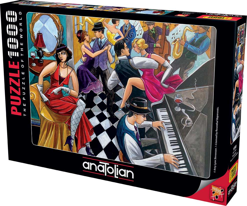 Puzzle Anatolian Club Speakeasy de 1000 Piezas