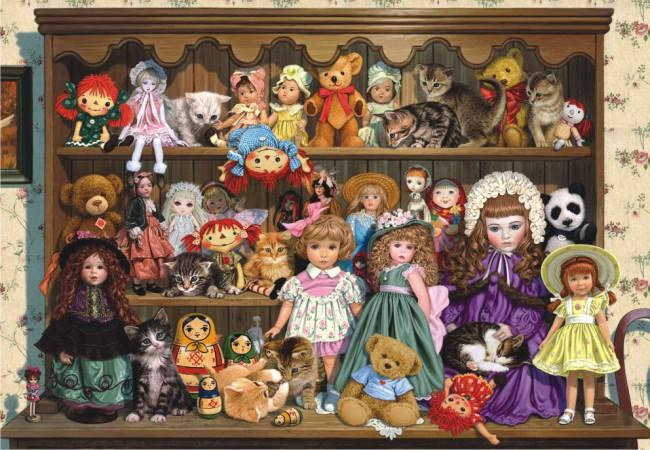 Puzzle Anatolian Colección de Muñecas de 500 Piezas
