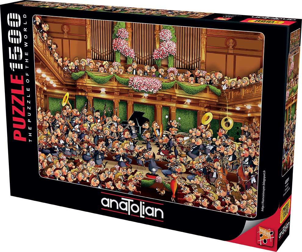 Puzzle Anatolian Concierto de 1500 Piezas