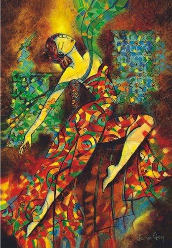 Puzzle Anatolian Danza de Colores de 500 Piezas