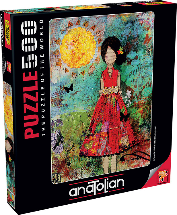 Puzzle Anatolian Deja que Pase el Sol de 500 Piezas