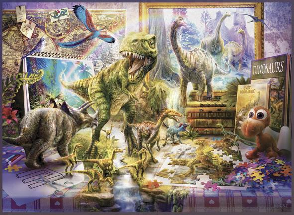 Puzzle Anatolian Dinosaurios Vuelven a la Vida de 1000 Piezas