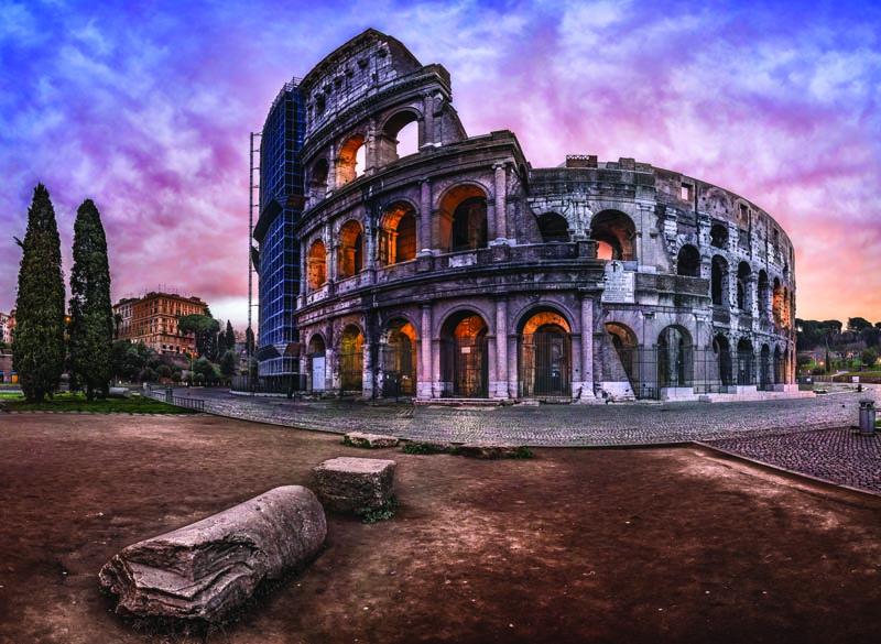 Puzzle Anatolian El Coliseo de Roma de 1000 Piezas