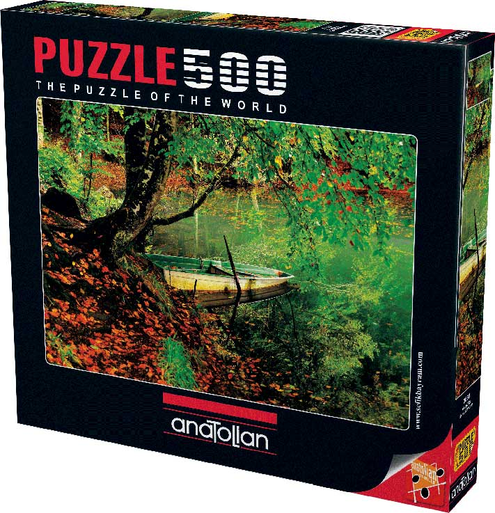 Puzzle Anatolian El Estanque de 500 Piezas