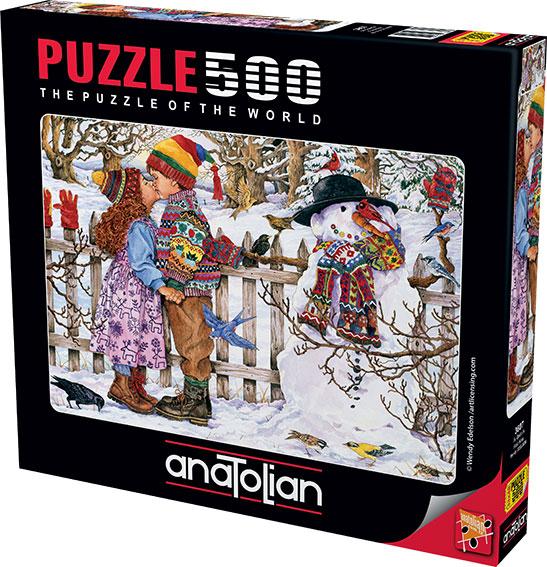 Puzzle Anatolian El Primer Beso de 500 Piezas