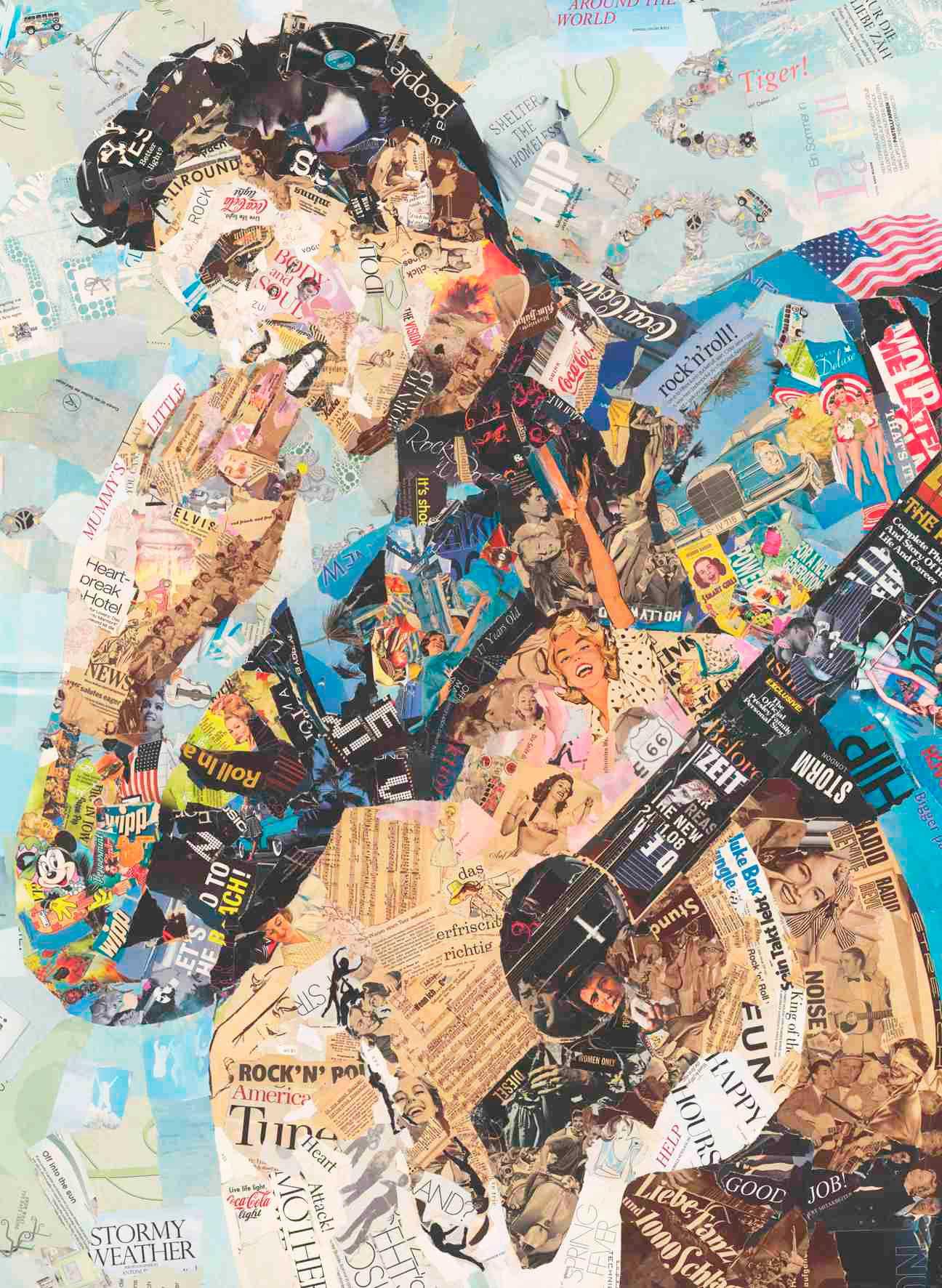 Puzzle Anatolian Elvis Presley News de 1000 Piezas