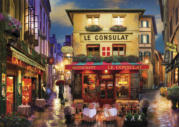 Puzzle Anatolian Encuentro en París de 1500 Piezas