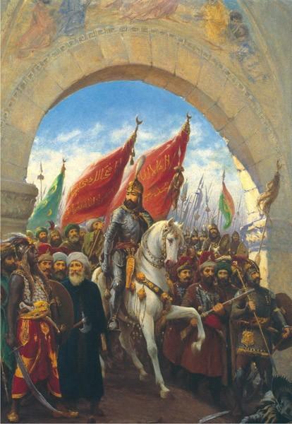 Puzzle Anatolian Entrando en Constantinopla de 2000 Piezas