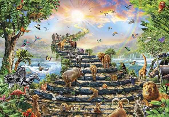 Puzzle Anatolian Escalera Hacia el Cielo de 260 Piezas