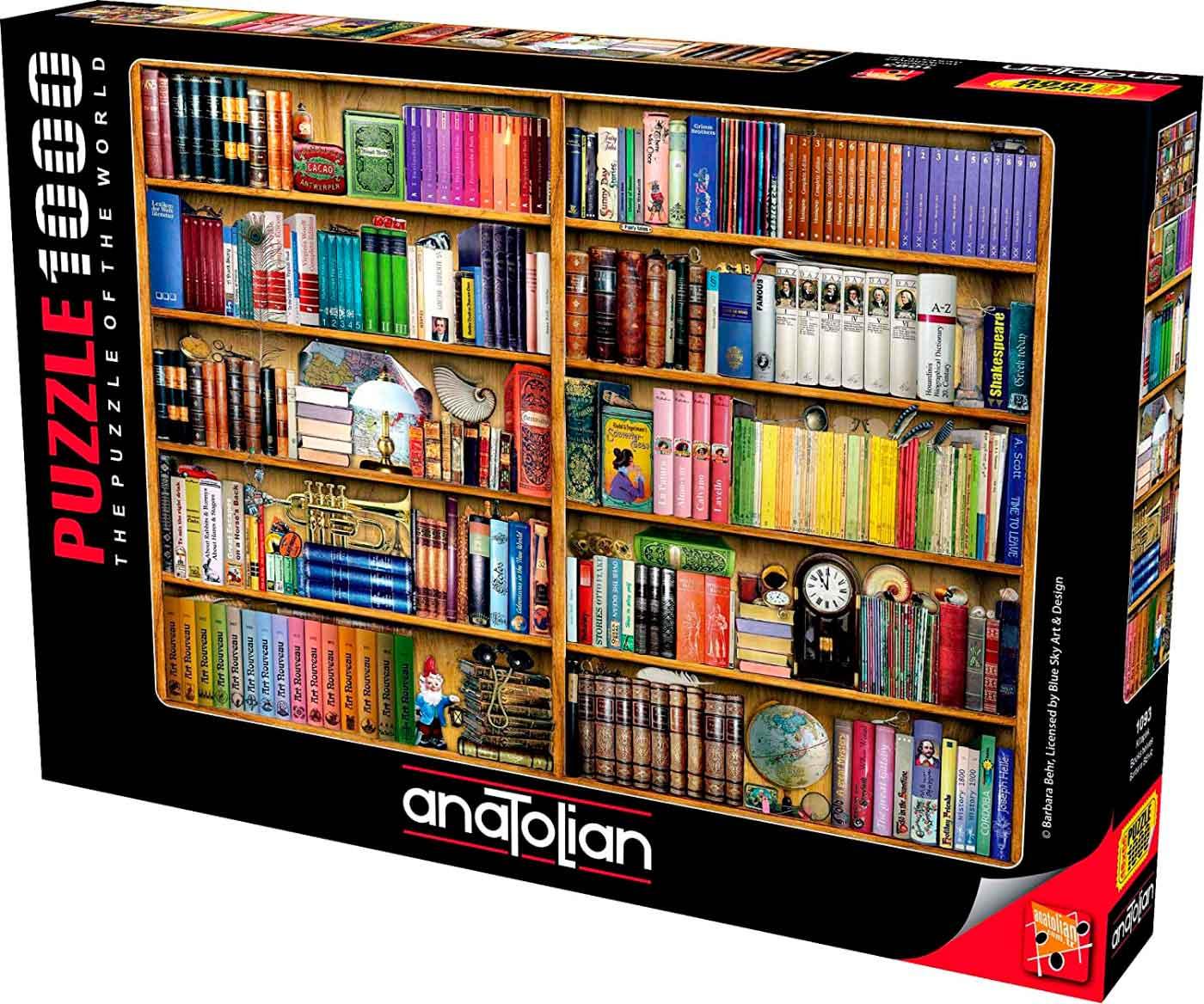 Puzzle Anatolian Estanterías de 1000 Piezas