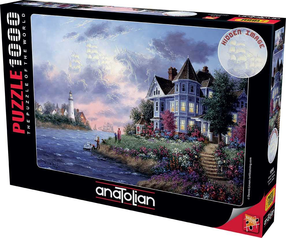 Puzzle Anatolian Fantasía Victoriana de 1000 Piezas