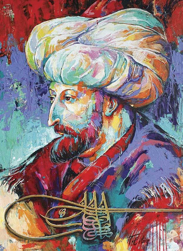 Puzzle Anatolian Fatih Sultan Mehmet de 1000 Piezas