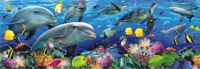 Puzzle Anatolian Fauna Bajo el Mar de 1000 Piezas