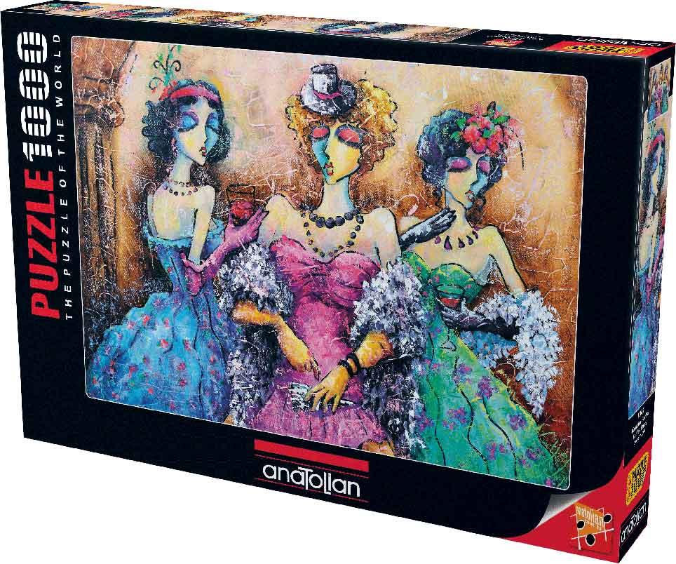 Puzzle Anatolian Fiesta de Mujeres de 1000 Piezas