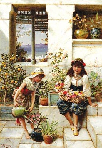 Puzzle Anatolian Flores Jóvenes de 500 Piezas