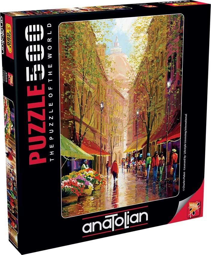 Puzzle Anatolian Floristeria de Florencia de 500 Piezas