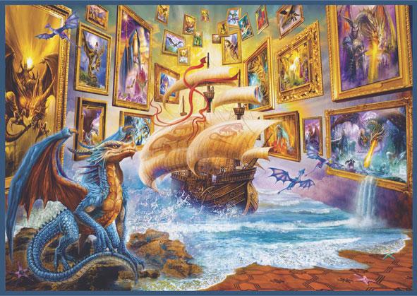 Puzzle Anatolian Galería de Dragones de 1500 Piezas