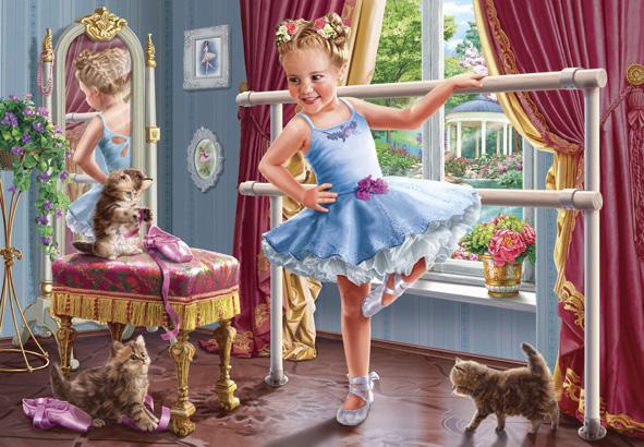Puzzle Anatolian Pequeña Bailarina de Danza de 260 Piezas