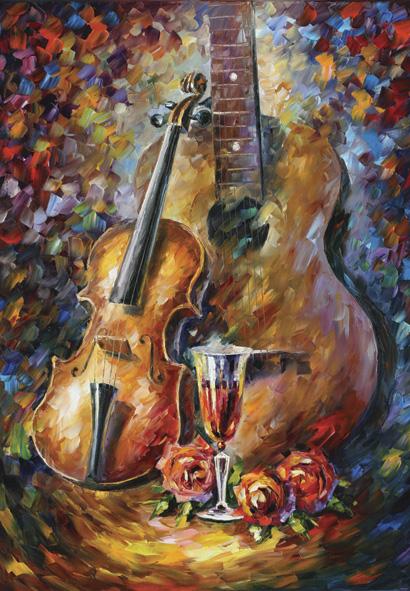 Puzzle Anatolian Guitarras y Violines de 500 Piezas