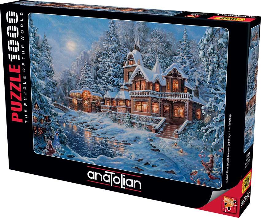Puzzle Anatolian Invierno Mágico de 1000 Piezas