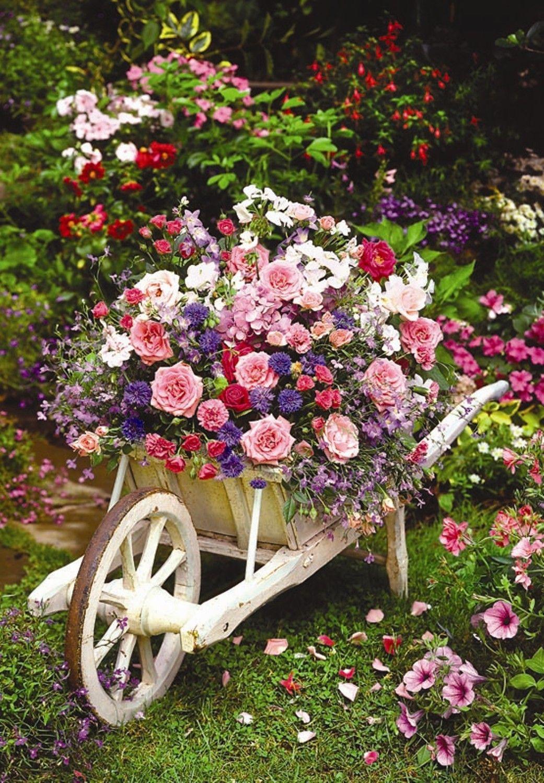 Puzzle Anatolian Jardín de Flores de 260 Piezas