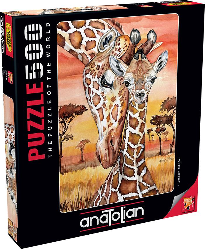Puzzle Anatolian Jirafas de 500 Piezas