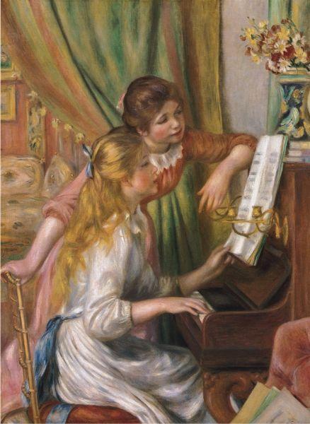 Puzzle Anatolian Jovencitas al Piano de 1000 Piezas