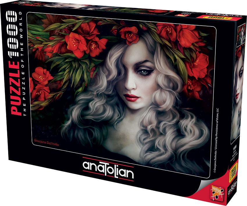 Puzzle Anatolian La Dama Dulce de 1000 Piezas