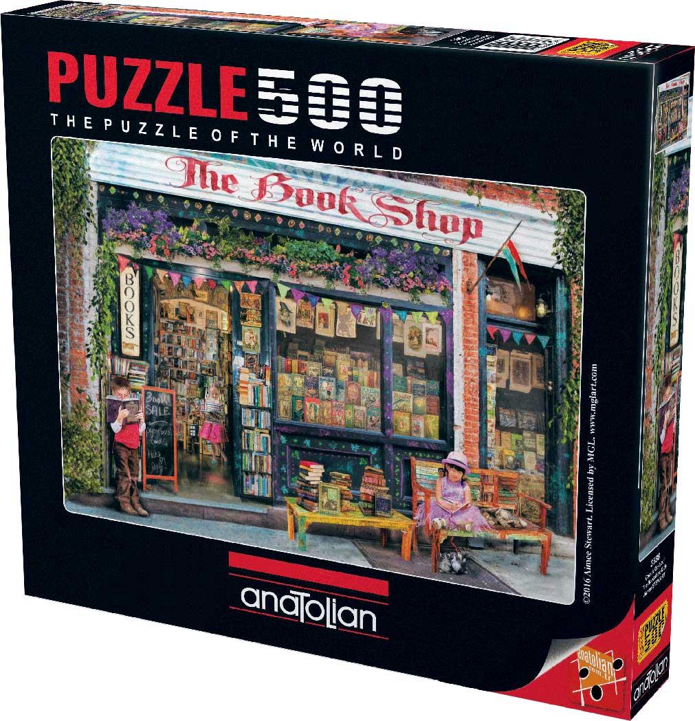 Puzzle Anatolian La Librería de 500 Piezas