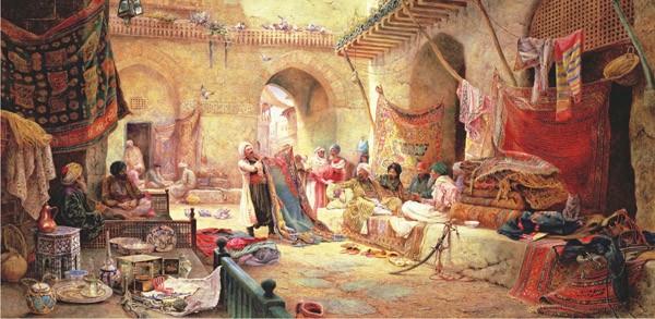 Puzzle Anatolian La Tienda de Alfombras en el Bazar de 1500 Piez