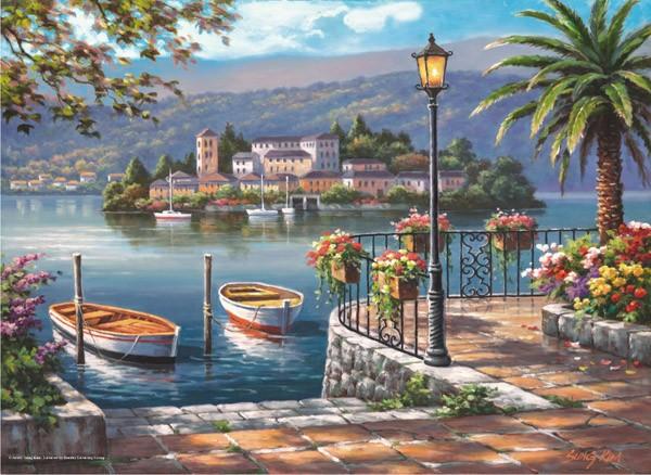 Puzzle Anatolian Lago del Puerto de 1000 Piezas
