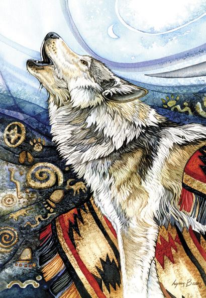 Puzzle Anatolian Lobo Aullando de 260 Piezas