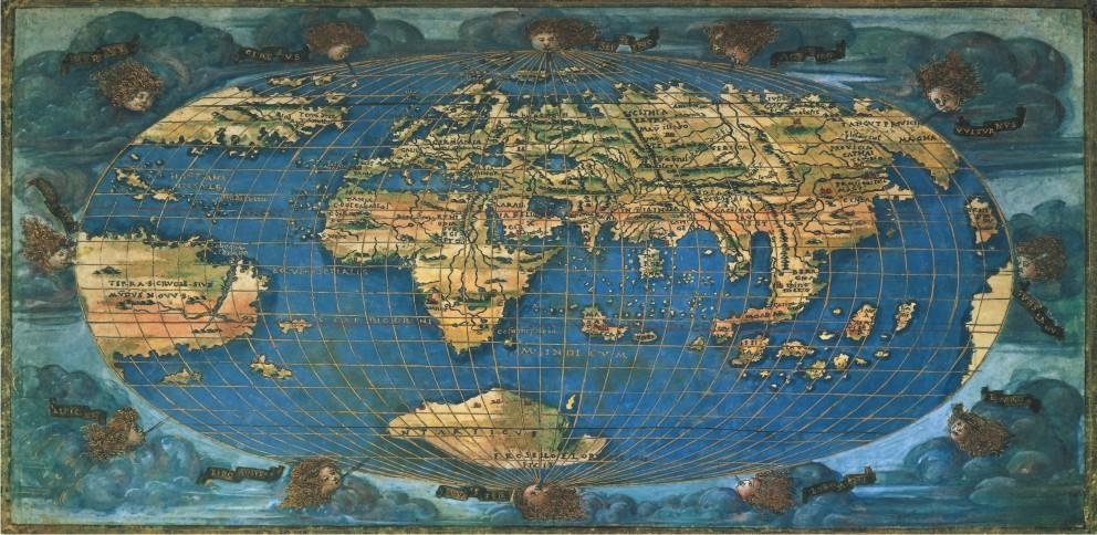 Puzzle Anatolian Mapa del Mundo 1508 de 1500 Piezas