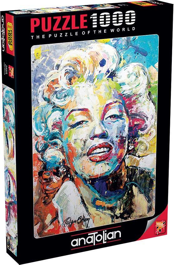 Puzzle Anatolian Marilyn Colorida de 1000 Piezas