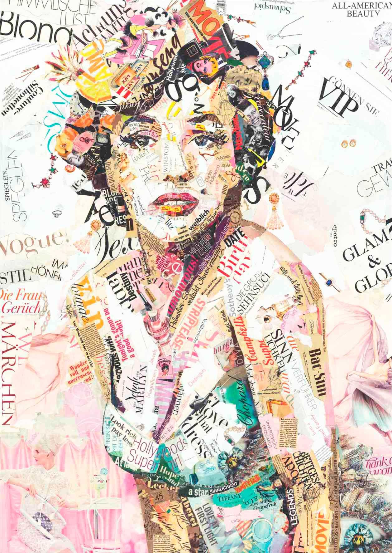 Puzzle Anatolian Marilyn Monroe News de 1500 Piezas