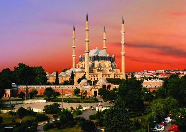 Puzzle Anatolian Mezquita de Selimiye, Edirne de 1500 Piezas