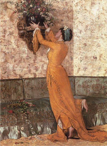 Puzzle Anatolian Mujer con Jarrón de Flores de 1000 Piezas