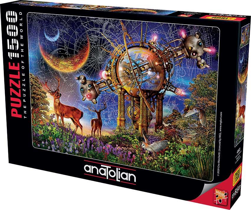 Puzzle Anatolian Observando las Estrellas de 1500 Piezas